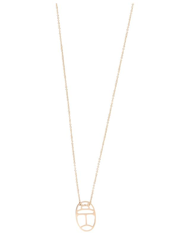 Mini Wish pink gold necklace GINETTE NY