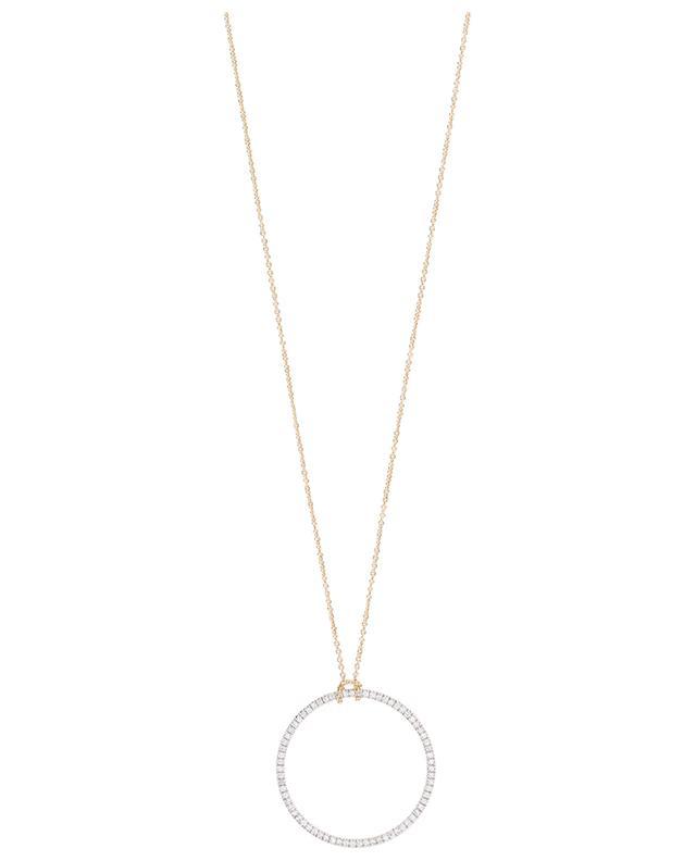 Diamond Circle necklace GINETTE NY