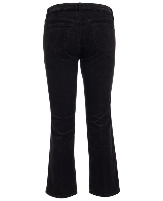 Kurz geschnittene und ausgestellte Hose Velveteen J BRAND
