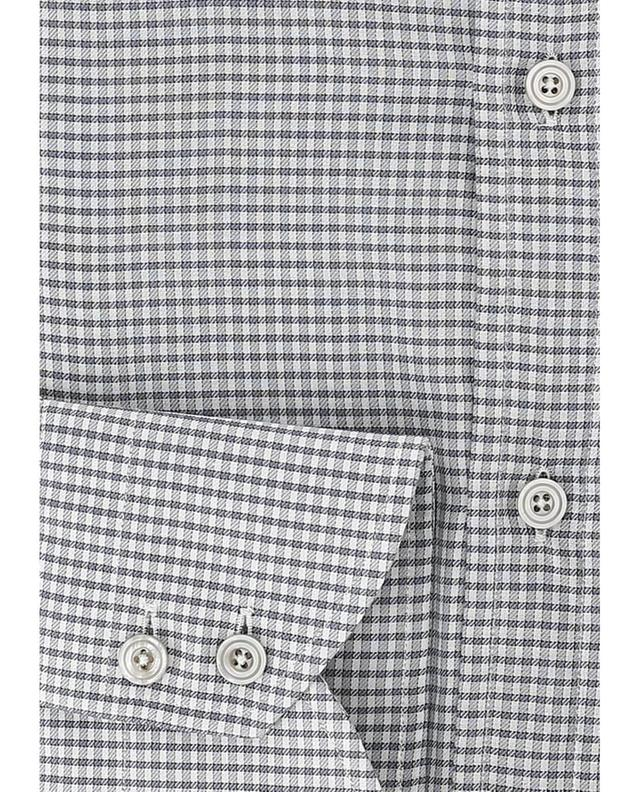 Chemise à carreaux en coton TOM FORD