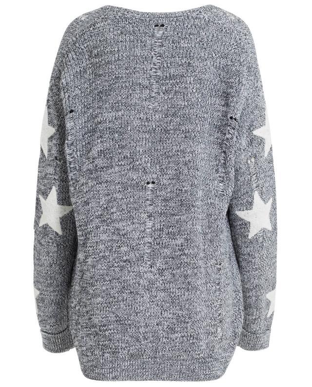 Cardigan aus Baumwolle mit Sternen ZOE KARSSEN