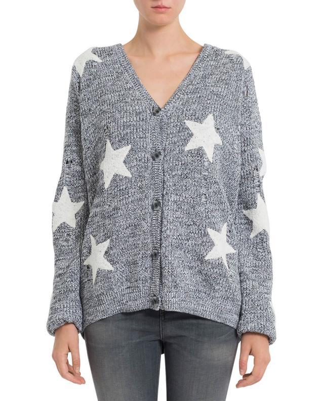 Cardigan en coton avec étoiles ZOE KARSSEN