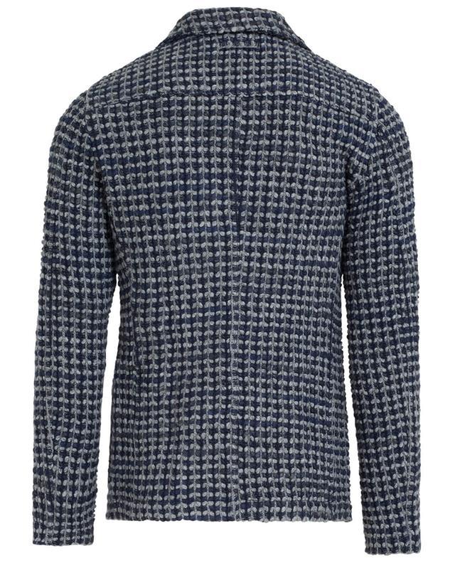 Blazer tricoté en laine mélangée TONELLO