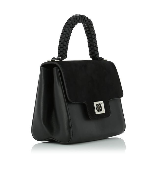 Leather and suede bag LILI RADU