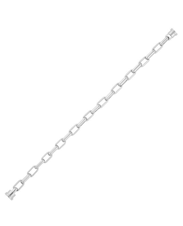 Kettchen für Armband Force 10 grosses Modell aus Weissgold FRED PARIS