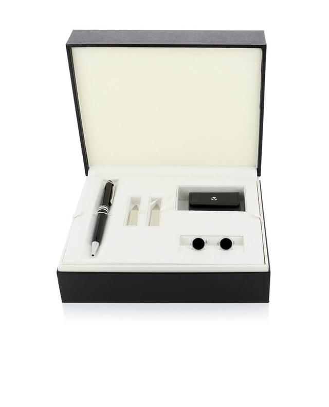 Geschenkbox Essentials mit Kugelschreiber und Manschettenknöpfen MONTBLANC
