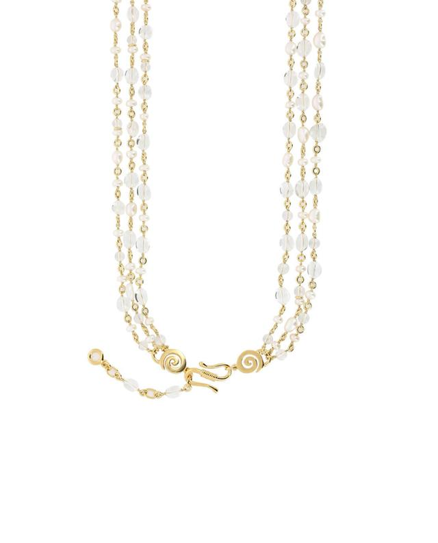 Clover gold plated necklace GOOSSENS