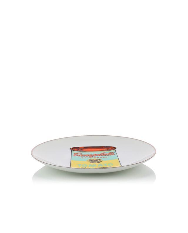 Assiette en porcelaine Campbell's LIGNE BLANCHE