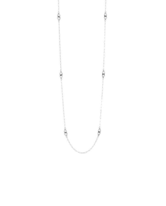 Lange Halskette aus Weißgold Handschellen DINH VAN