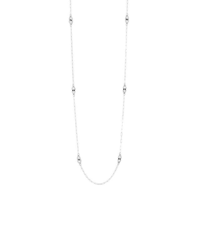Menottes white gold necklace DINH VAN