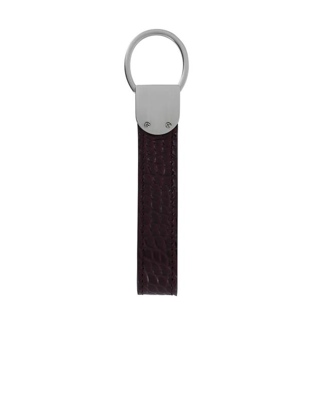 Metal and leather key ring ATELIER BG