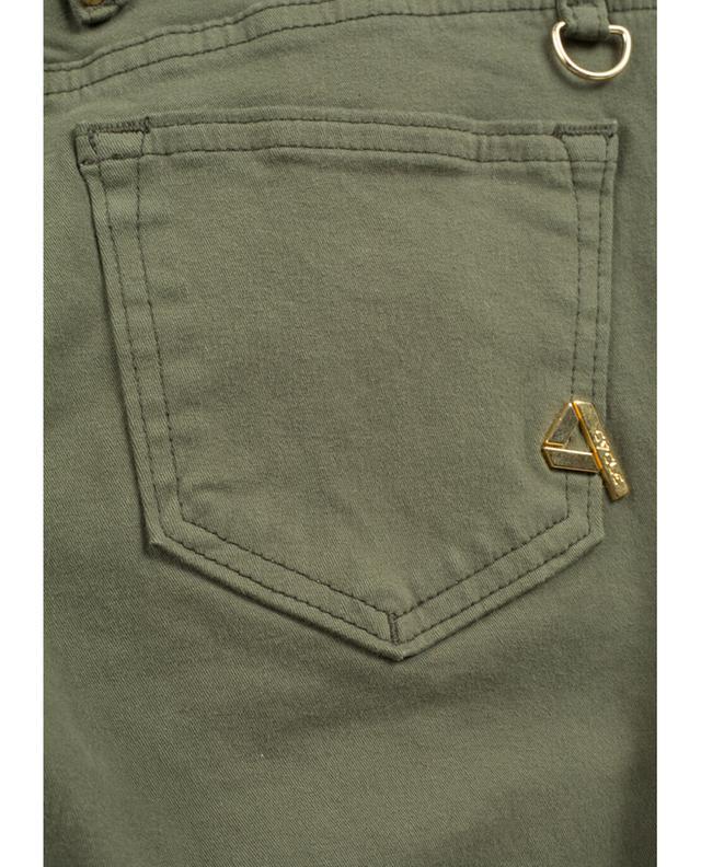 Cycle Slim-Fit Stretch-Jeans Khaki