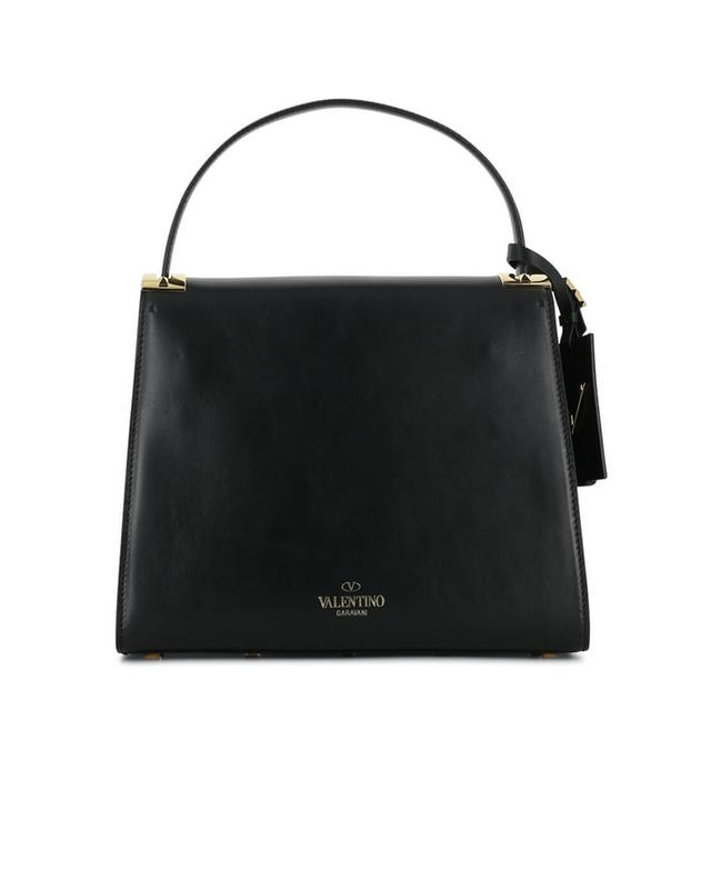 Valentino smooth leather handbag black a70707
