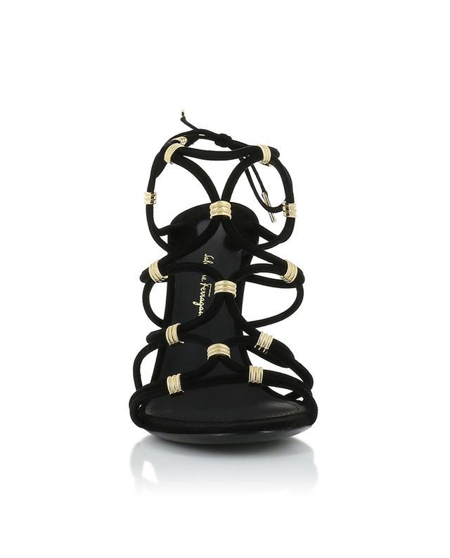 Fiuggi suede sandals SALVATORE FERRAGAMO