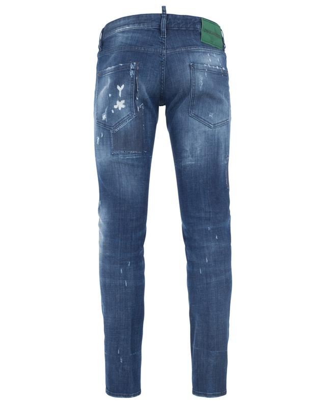 Clement distressed slim fit jeans DSQUARED2