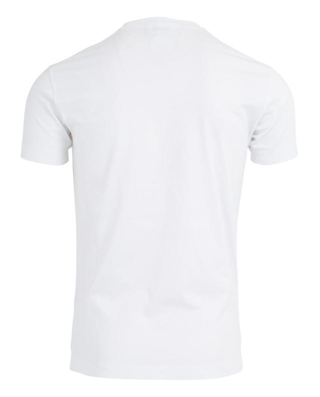 T-Shirt aus Baumwolle mit Print Raccoon DSQUARED2