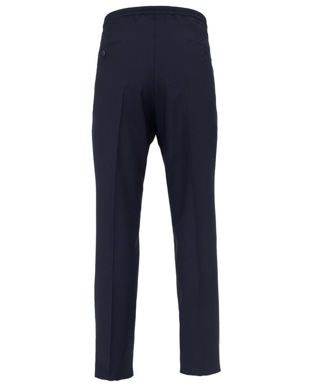 Pantalon classique slim en laine Z ZEGNA