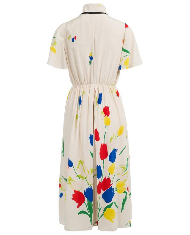Bedrucktes Kleid aus Seide VALENTINO