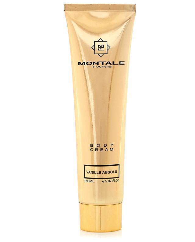 Crème pour le corps Vanille Absolu MONTALE