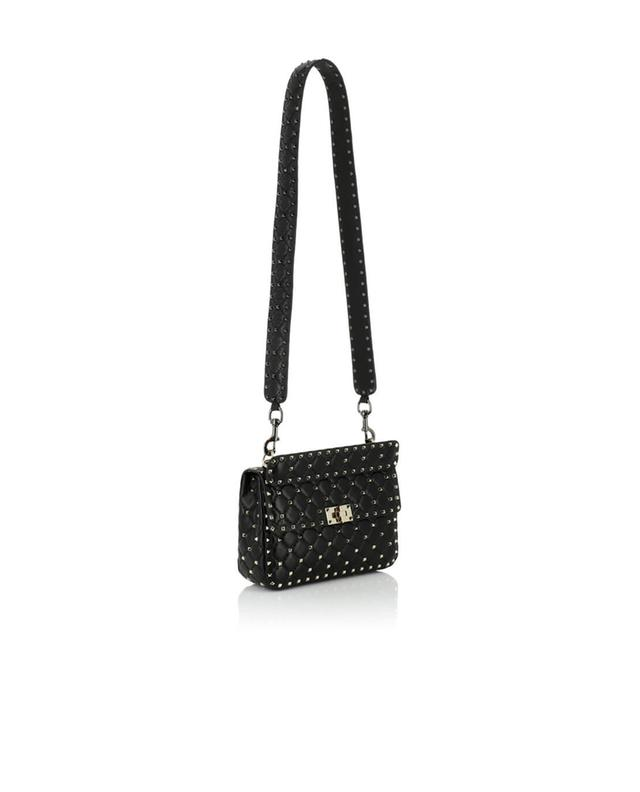Rockstud Spike leather shoulder strap VALENTINO