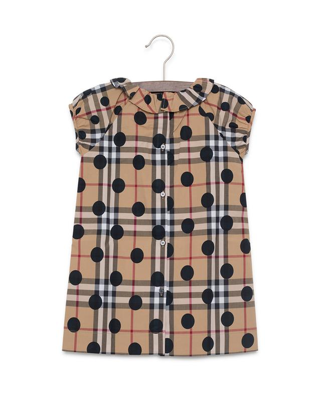 Annie printed cotton dress BURBERRY
