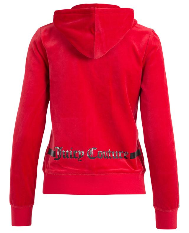 Sweat-shirt raccourci zippé Robertson JUICY BY JUICY COUTU