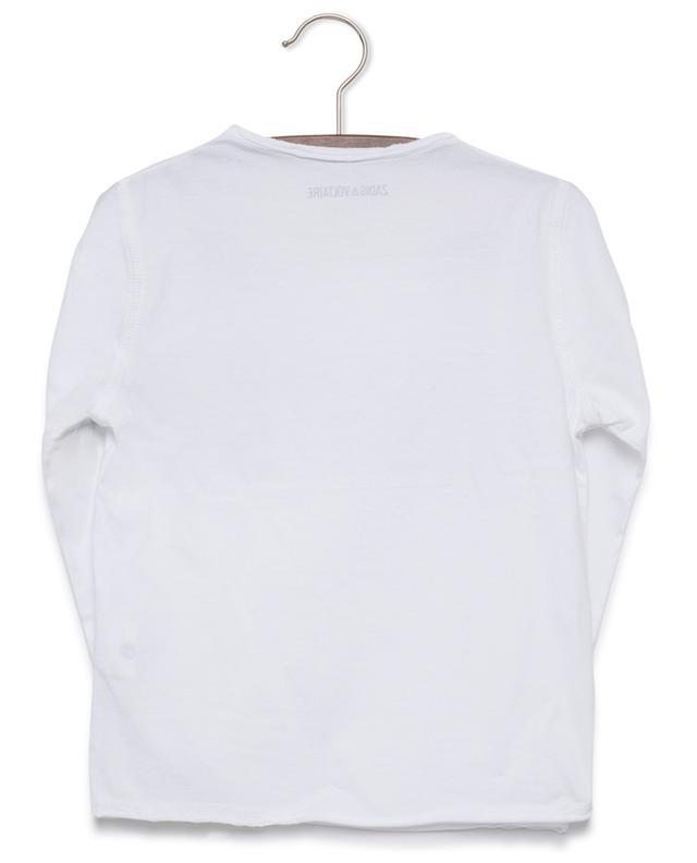T-shirt à manches longues Boxer ZADIG & VOLTAIRE