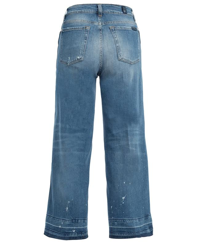Marnie Unrolled cropped bootcut jeans 7 FOR ALL MANKIND