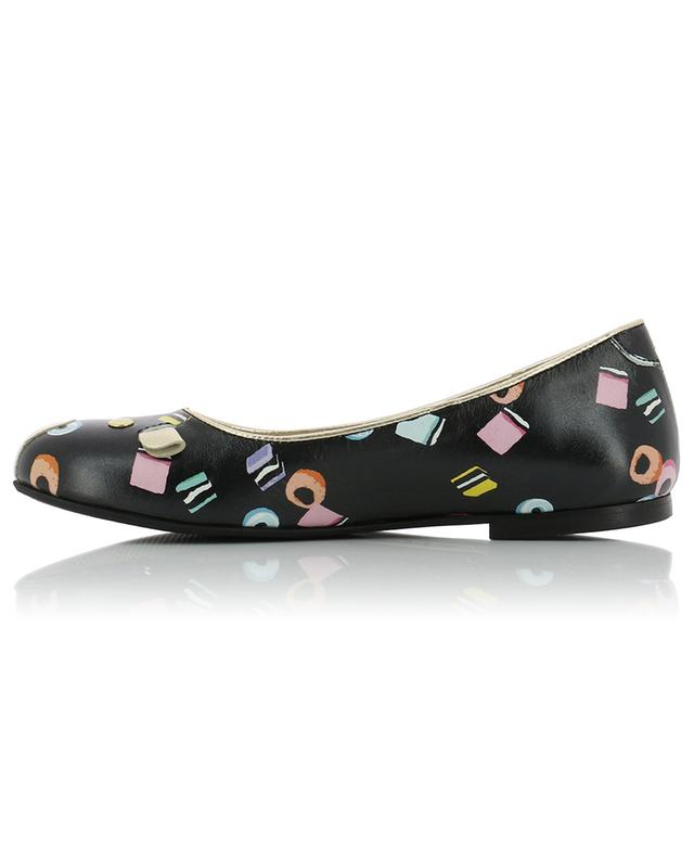 Candy Mouse leather ballet flats LITTLE MARC JACOBS