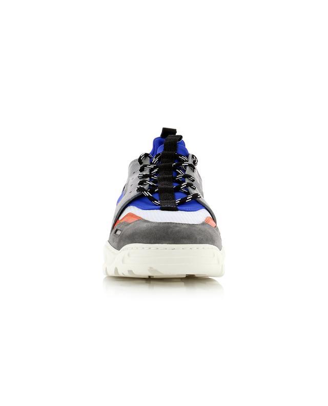 Sneakers aus Leder und Neopren Lucky 9 AMI