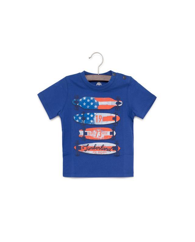Bedrucktes T-Shirt aus Baumwolle TIMBERLAND