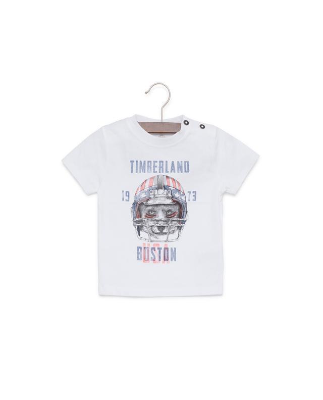 Printed cotton T-shirt TIMBERLAND