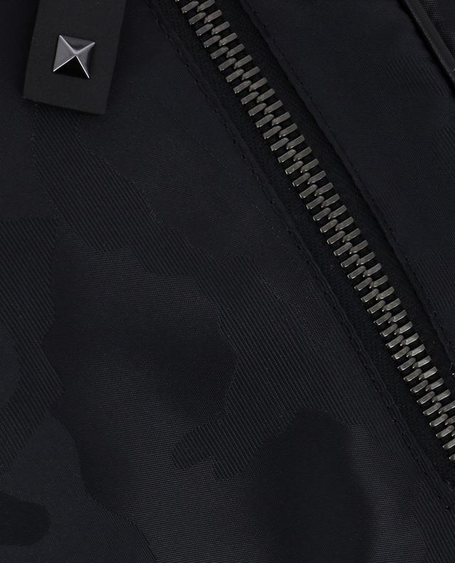 Sacoche en tissu camouflage VALENTINO