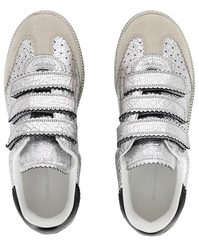 Sneakers aus Leder und Wildleder Beth ISABEL MARANT