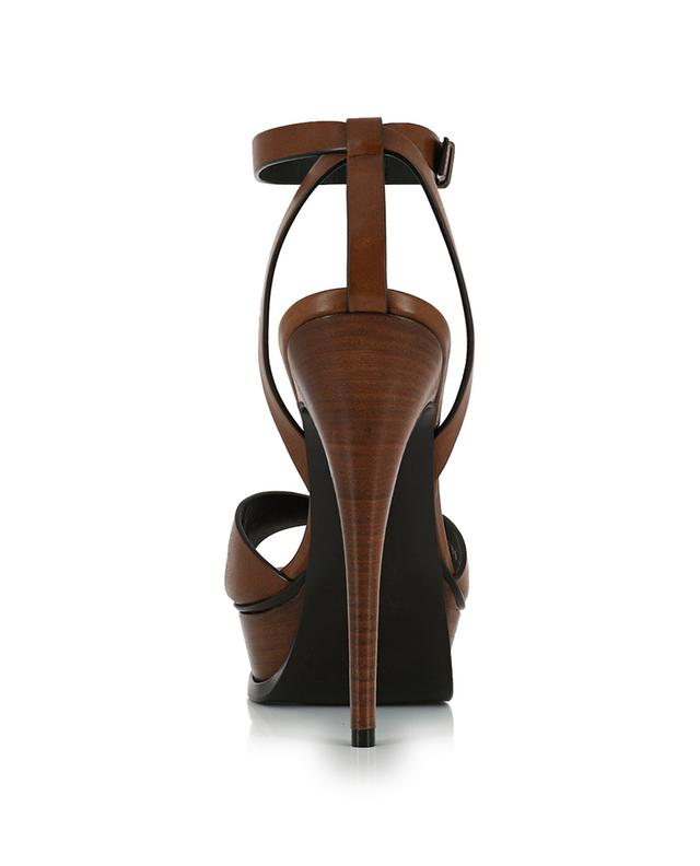 Tribute 105 leather sandals SAINT LAURENT PARIS