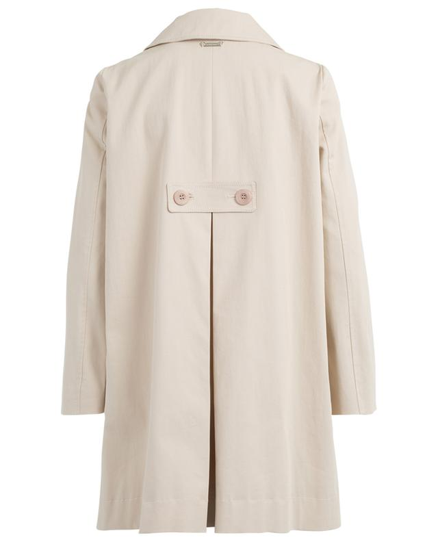 Cotton blend trench coat TWINSET