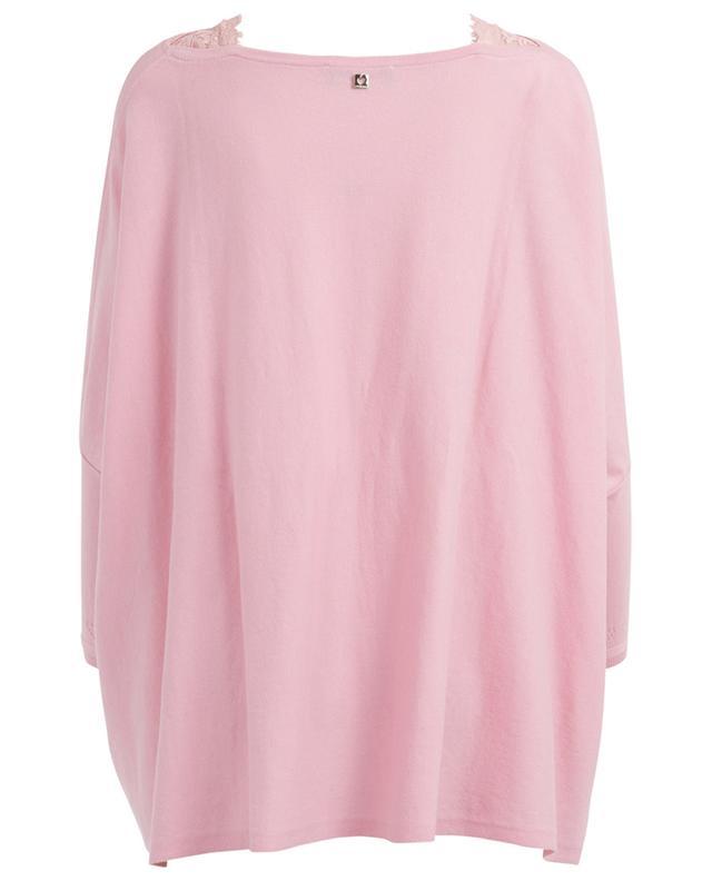 Cotton blend cape jumper TWINSET