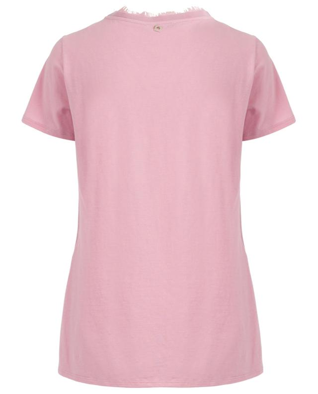 Silk and cotton T-shirt TWINSET