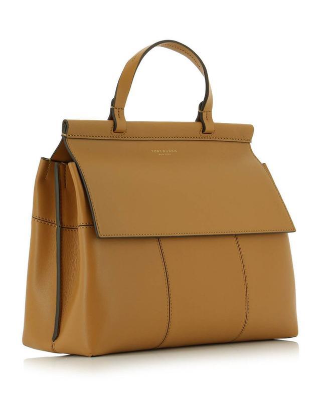 Motif T leather handbag TORY BURCH