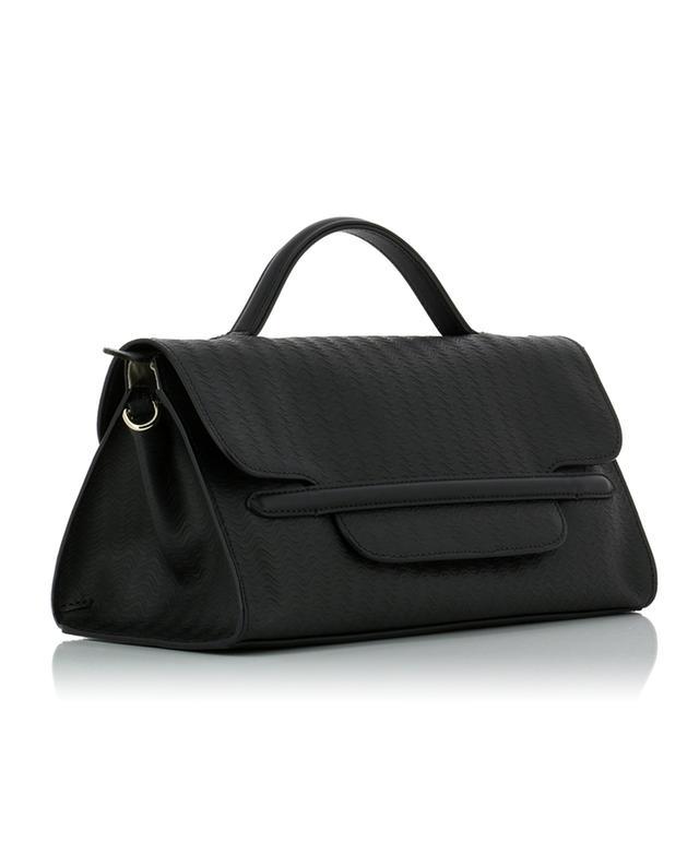 Nina S textured leather handbag ZANELLATO