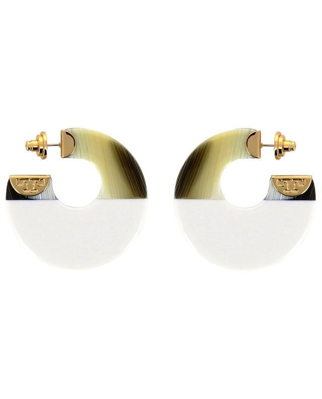 Resin earrings TORY BURCH