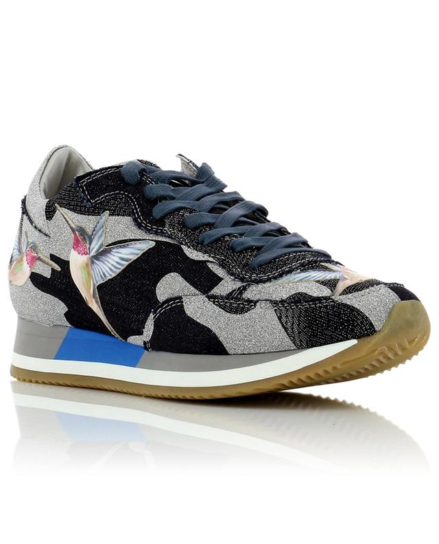 Sneakers aus Stoff Étoile Tropical Bird PHILIPPE MODEL