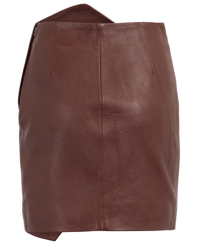 Mini-jupe en cuir Enamah IRO