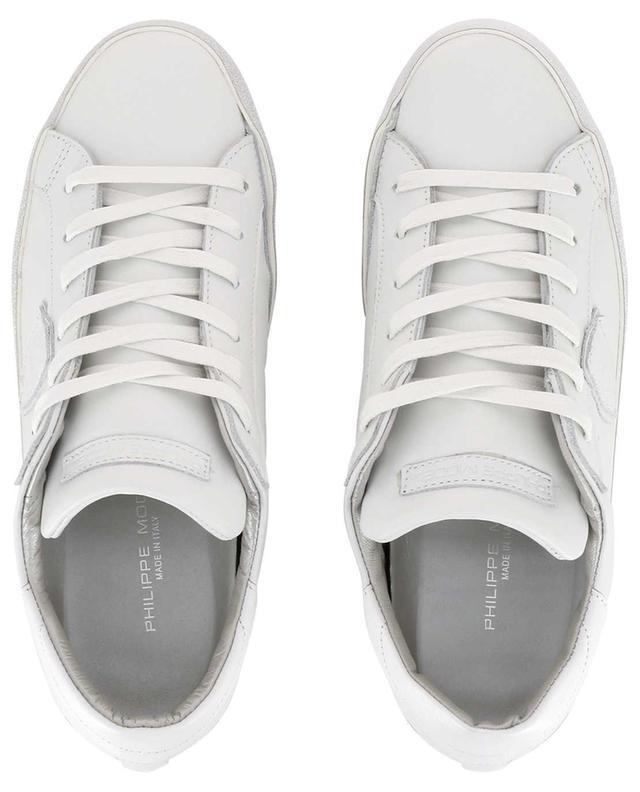 Sneakers aus Leder Paris Glitter PHILIPPE MODEL