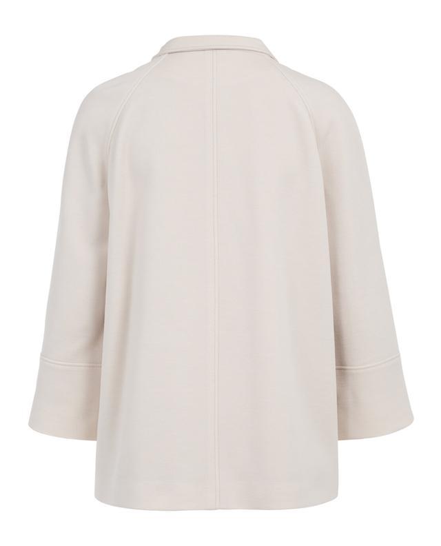 Short virgin wool blend coat WINDSOR