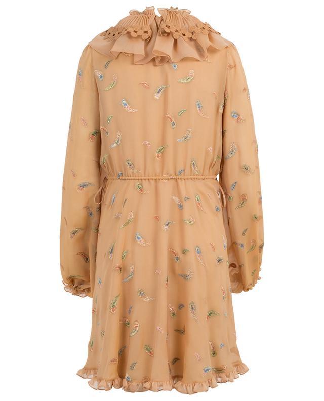 Viscose and silk dress CHLOE