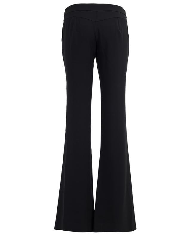 Flared acetate blend trousers CHLOE