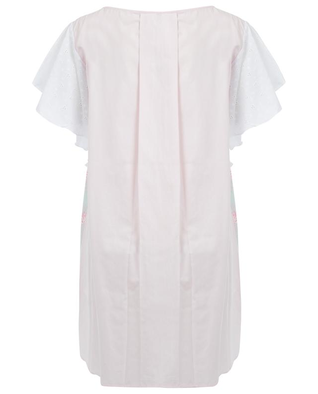 Mia cotton short dress AMALIA
