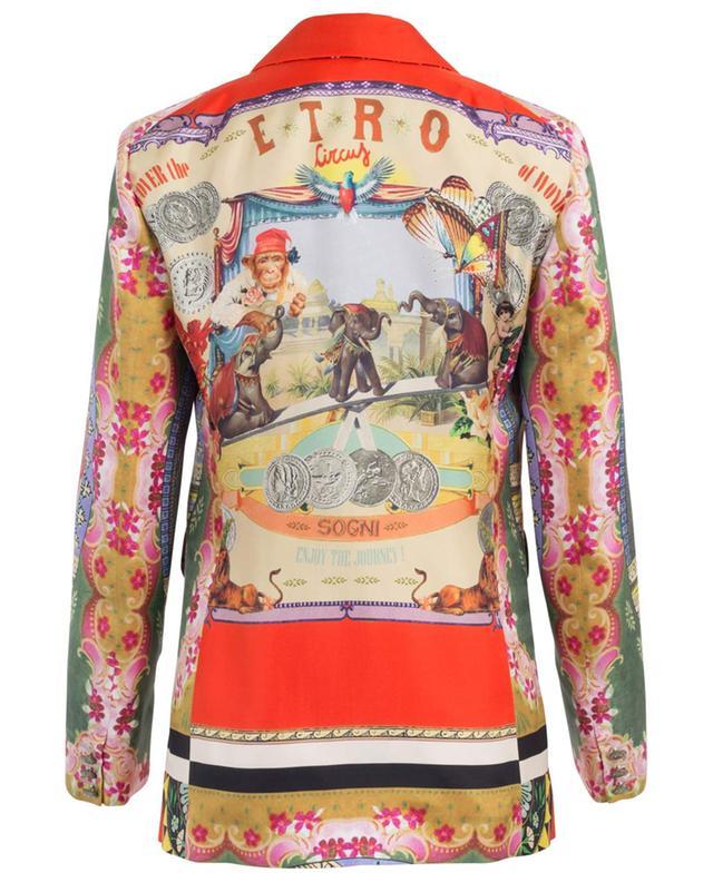 Silk blazer ETRO
