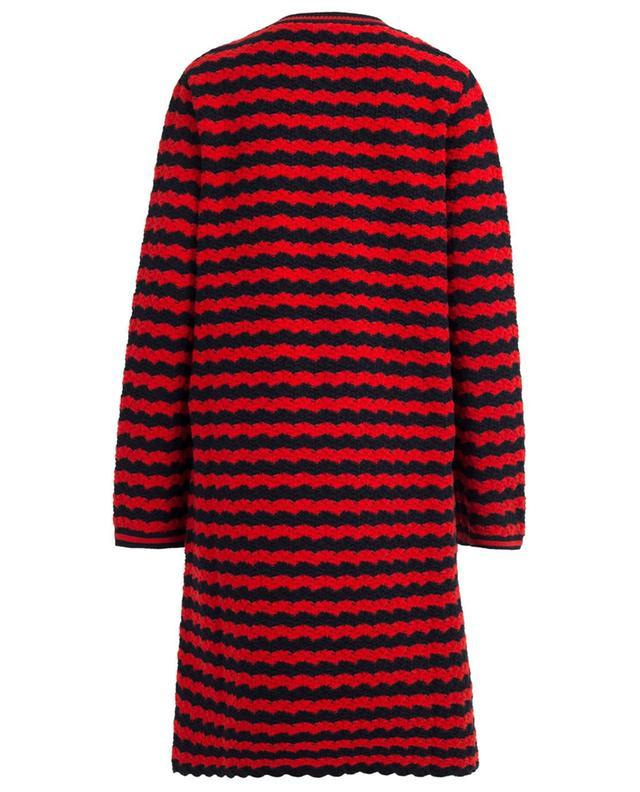 Cardigan en laine et coton mélangés GUCCI